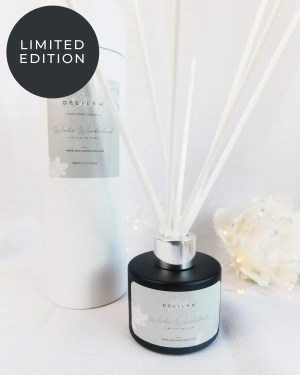 Winter Wonderland Limited Edition Reed Diffuser, Luxury Home Fragrances, Christmas scented reed diffuser