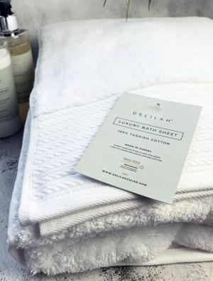 Luxury 100% Turkish Cotton Bath Sheet by Delilah Chloe, Bath & Body Luxuries