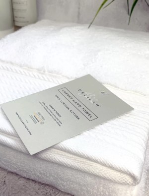 Luxury 100% Turkish Cotton Hand Towel by Delilah Chloe, Bath & Body Luxuries