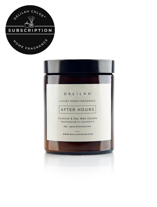 Candle Subscription by Delilah Chloe, luxury home fragrances