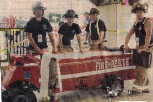 Firemen - Tub races