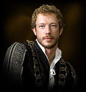 Kris Holden-Reid as Will Compton in the Tudors. Not exactly as I pictured Sir Godfrey, but awfully inspiring!
