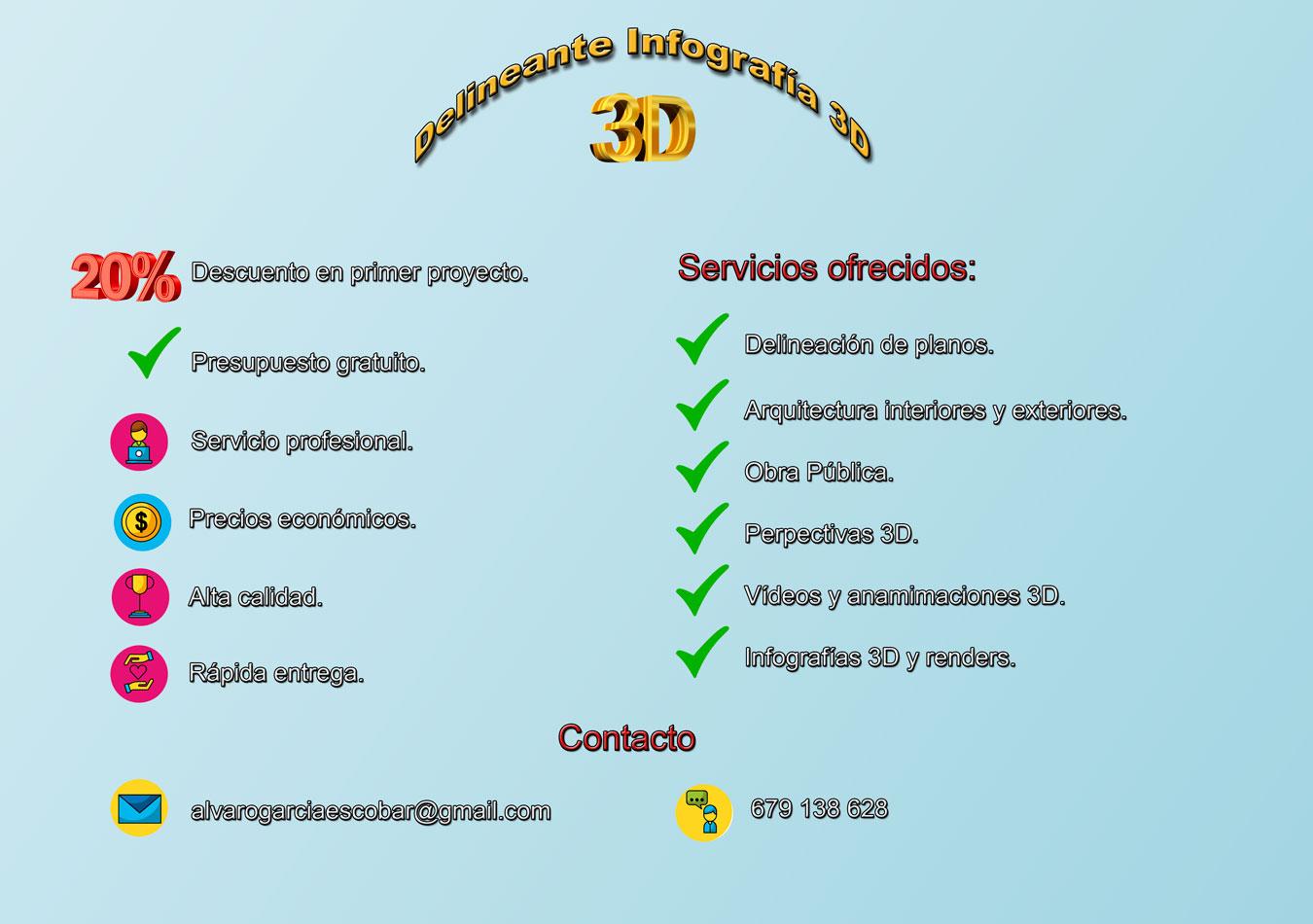 Servicios infografía 3D