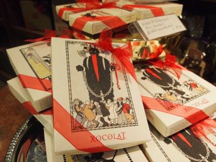 Hübsch verpackte Leckereien zu Weihnachtszeit
