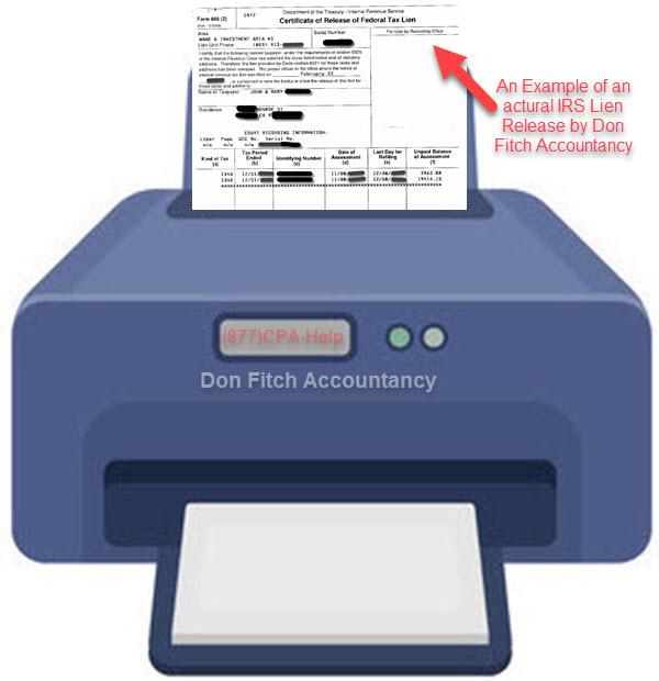 668Z Certificate of Release of Federal Tax Lien