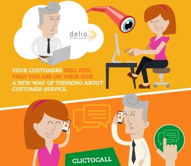 Click2 call, Click2video, Click2chat y Ring pool: Aumentan sus ventas