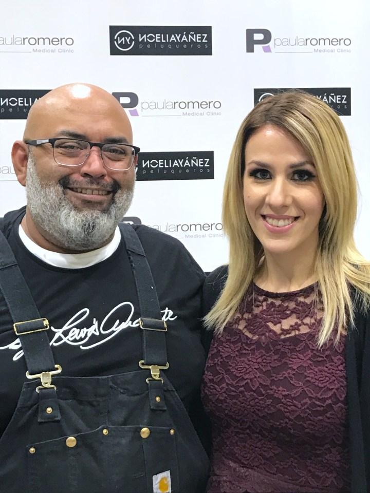 Master Class de maquillaje con Lewis Amarante