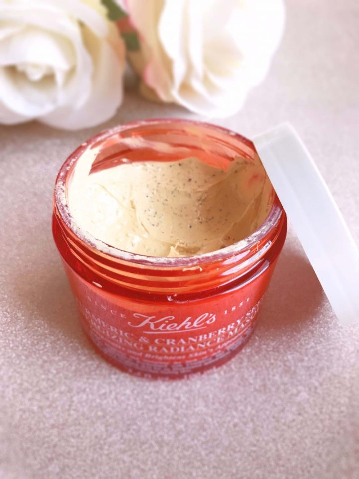 Mascarilla Turmeric and Cranberry Seed Energizing Radiance, de Kiehls