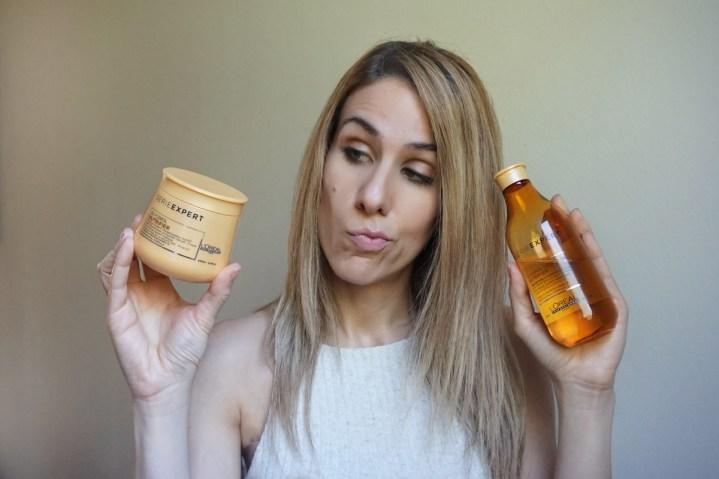 Review: Champú y mascarilla Nutrifier de L'Oréal Professionnel