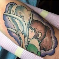 Haku-and-Chihiro-tattoo-by-Alex-Strangler