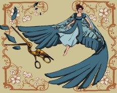 Arte: http://jswander.deviantart.com/art/Beatrice-Over-the-Garden-Wall-507245926