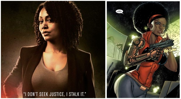 "Personagens Femininas Mercedes ""Misty Knight"""
