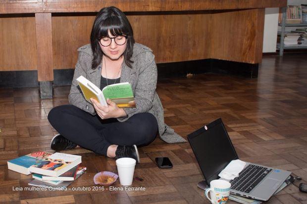Leia Mulheres Curitiba Elena Ferrante #leiamulheres