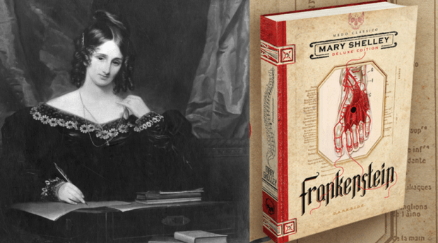 Frankenstein, Mary Shelley, Darkside Books