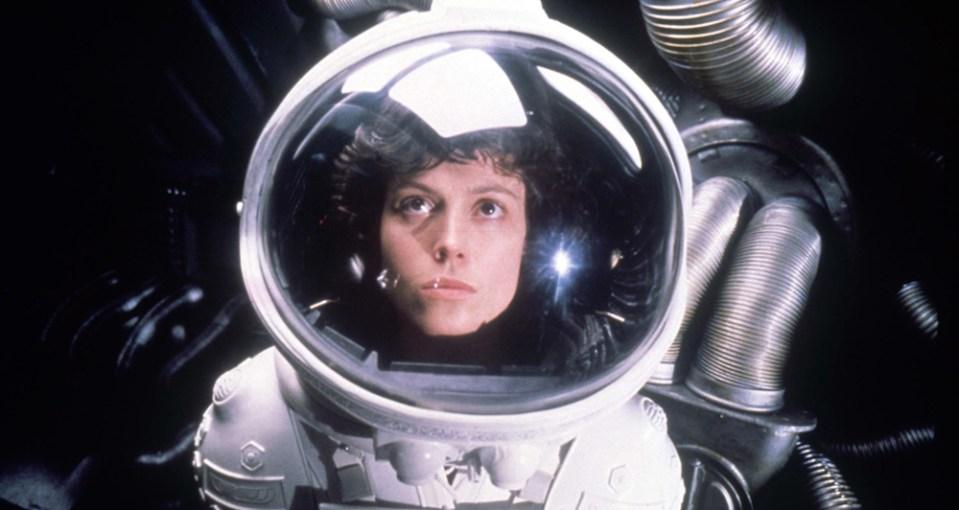 """Telecine Ellen Ripley na franquia """"Alien"""""""