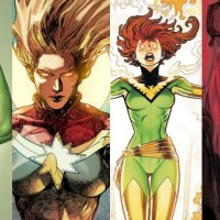 As principais personagens femininas da Marvel