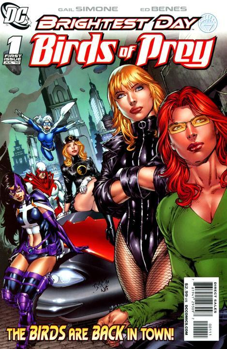 Birds of Prey, Gail Simone