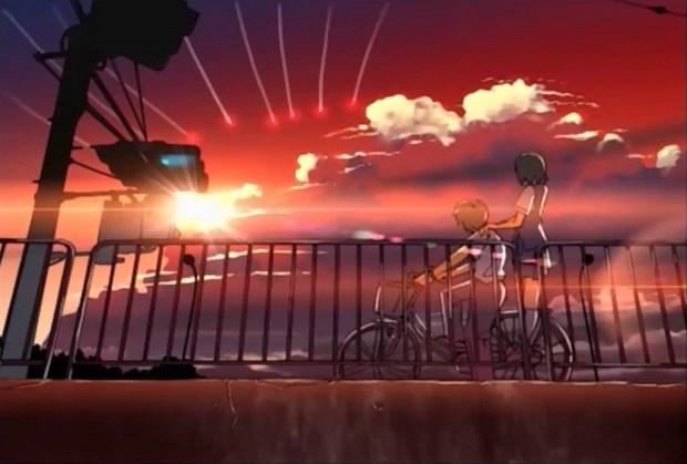 """Mikako e Noboru em """"Vozes de uma Estrela Distante"""""""