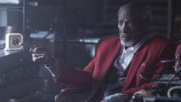 Will Reeves (Louis Gossett Jr.) em Watchmen