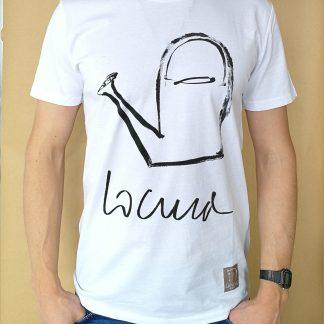 Camiseta locura manga corta color blanco hombre