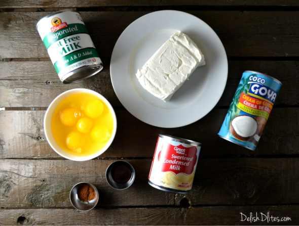 Coconut Cream Cheese Flan (Flan De Coco) | Delish D'Lites