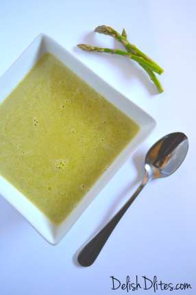 Cream of Asparagus Soup | Delish D'Lites