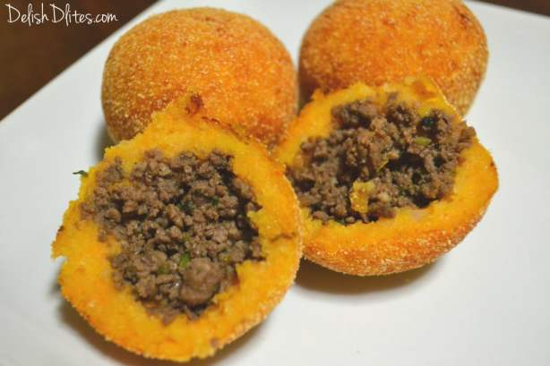 Sweet Potato Rellenos De Papa | Delish D'Lites