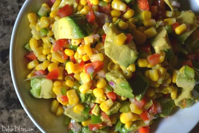 Summer Corn Salad | Delish D'Lites