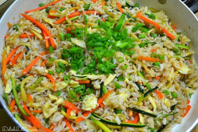 Veggie Fried Rice | Delish D'Lites