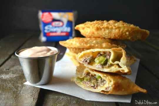 Cheesesteak Empanadas   Delish D'Lites