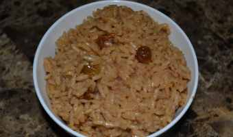 Colombian Arroz Con Coco (Coconut Rice)