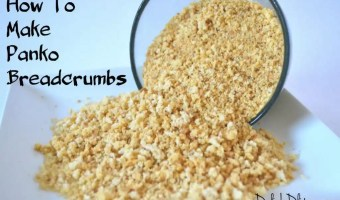 How To Make Your Own Panko Breadcrumbs