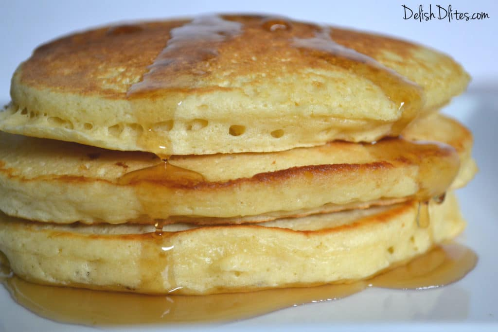 how to make fluffy pancakes using aunt jemima mix
