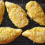 Plantain Crusted Stuffed Chicken Breasts