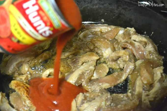 Pollo Salteado | Delish D'Lites