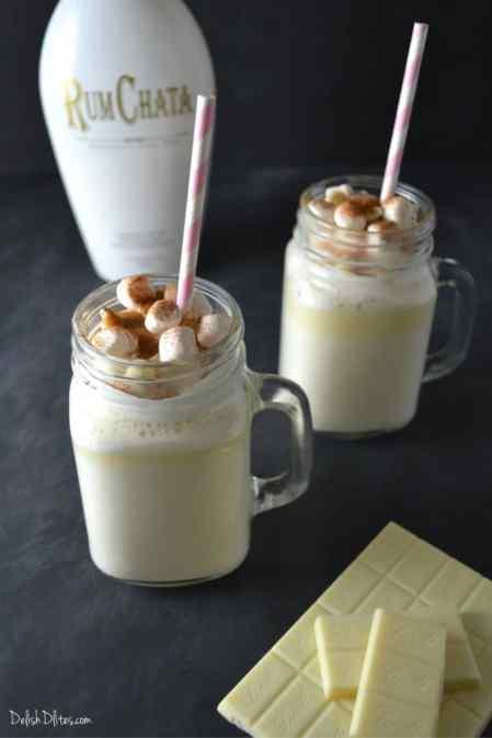 RumChata White Hot Chocolate | Delish D'Lites
