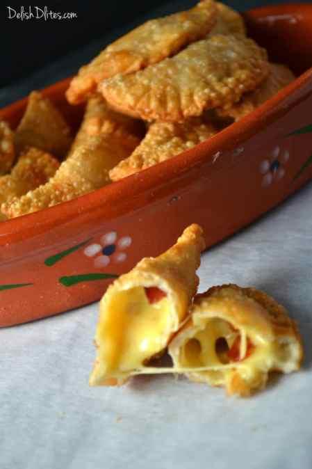 Bacon and Cheese Empanadas | Delish D'Lites