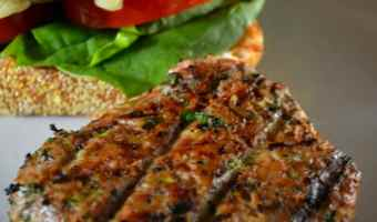 Spicy Turkey Zucchini Burgers