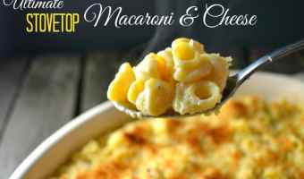 The Ultimate Stovetop Macaroni and Cheese
