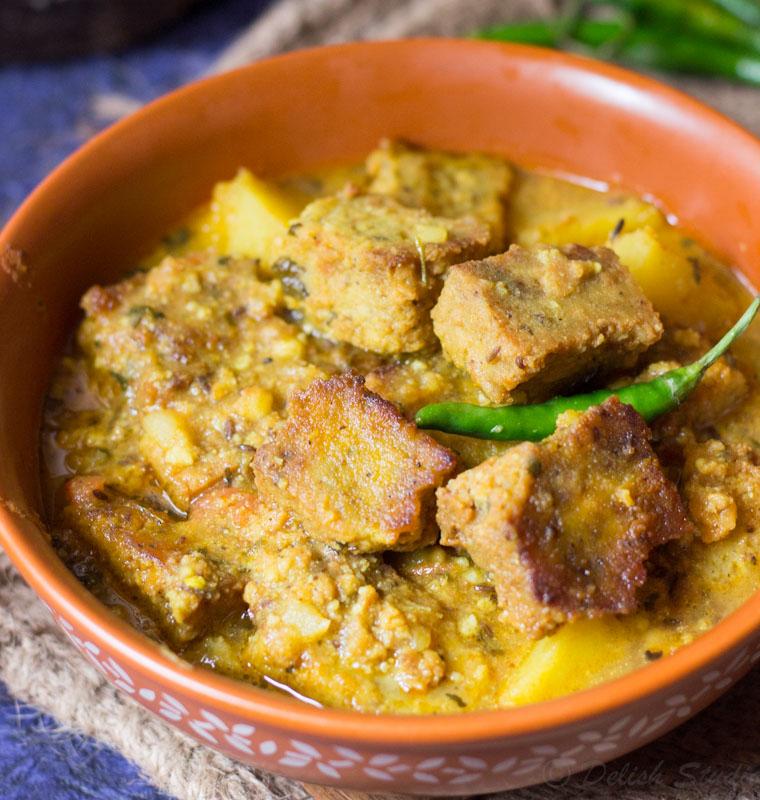 Dhokar Dalna - Bengali recipe (no onion no garlic) - Delish