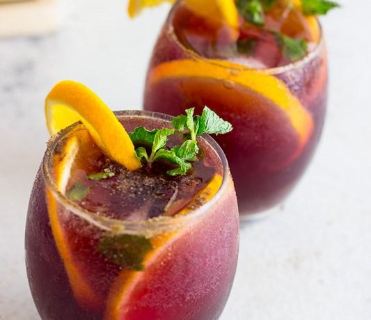 Jaljeera Red Wine Sangria Cocktail