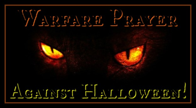 Warfare Prayer against Halloween!! - Keys to the Kingdom Deliverance