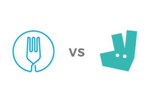 Deliveroo vs Uber Eats