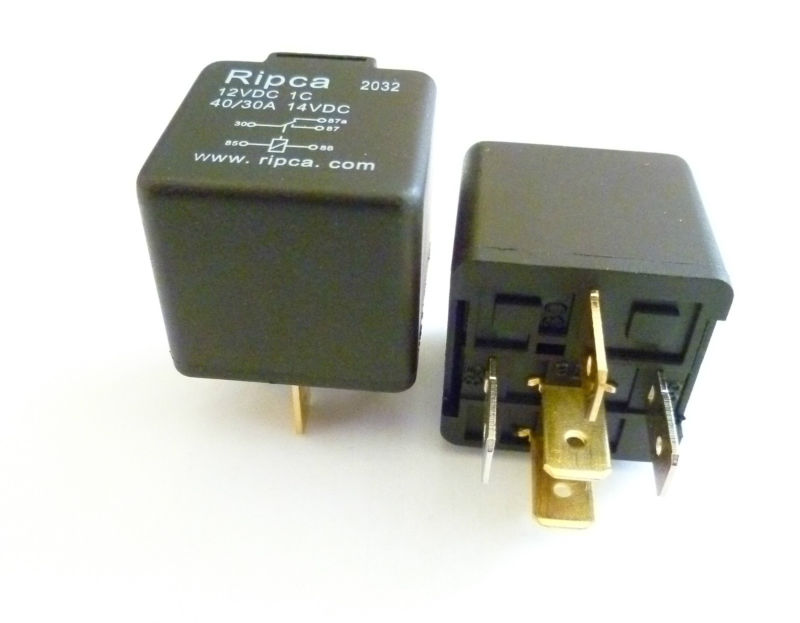 5 Pin Automotive Type 12volt 30Amp Relays ALT