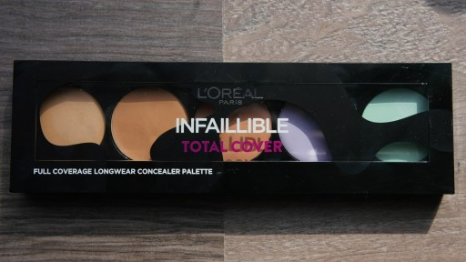 LOREAL INFALLIBLE TOTAL COVER CONCEALER PALETTE dellero