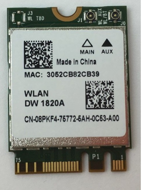 Dell Wireless 1802 Bluetooth Atheros New