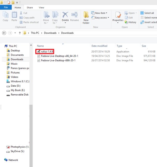 Fedora Bootable 1