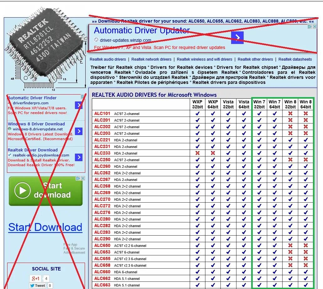 Realtek rtl8201cl cp driver free download
