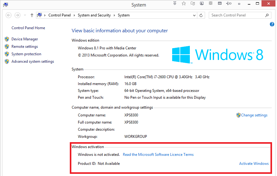 difference between windows product id and product key