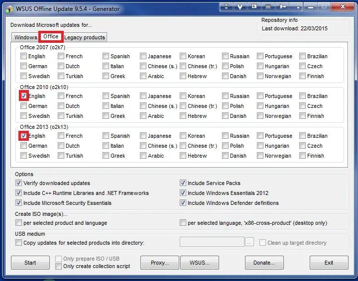 WSUS Offline Update - Windows 10 Installation Guides